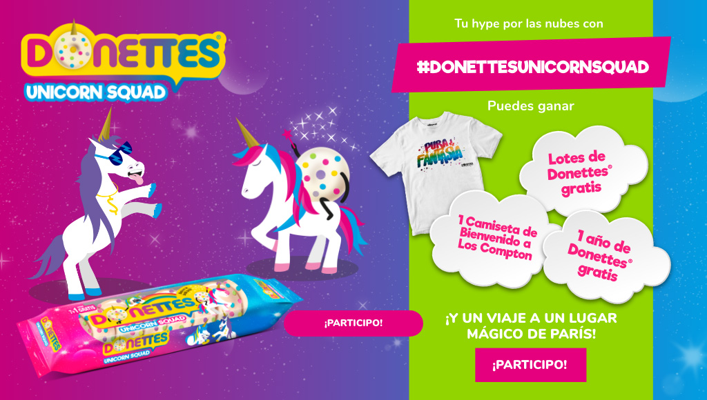 Donettes Unicorn Squad